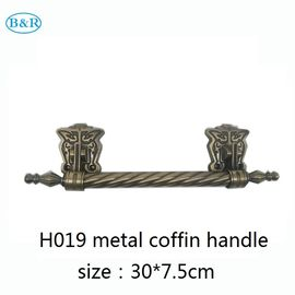 Good Quality Metal Coffin Handles & Zamak Coffins And Caskets Accessories Metal Casket Handles 30 * 7.5 Cm on sale