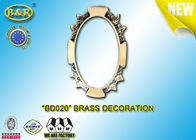 China Ref.BD020 Brass Decoration Metal Tombstone Frame Material Copper Alloy Size 8*10,11*15cm factory