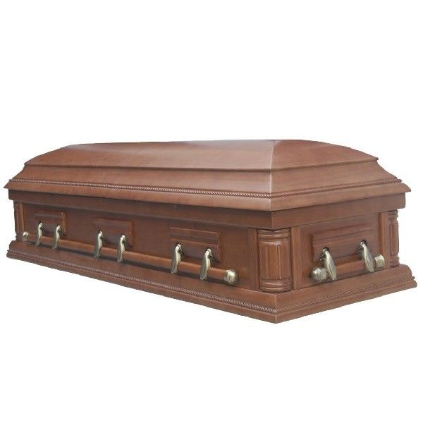 CIQ Standard Funeral Coffins And Caskets SA04  / MDF Coffin With Glass