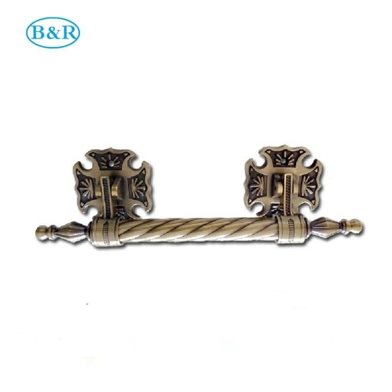 H023 Zamak coffin rocker handles metal casket decoration manillas ataudes