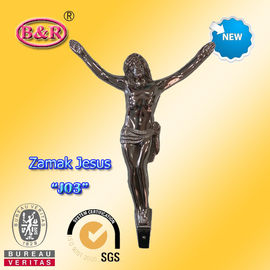 "Cross crucifix part zamak jesus No "" J01 "" zinc alloy size: 12.5*17cm"