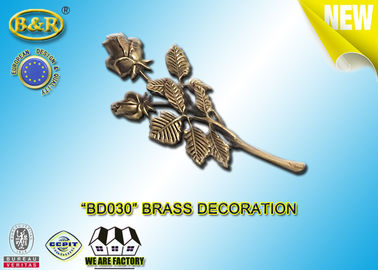 No. BD030 Brass Roses Bronze Funeral Decoration Size 23.5*11 Cm Material Copper Alloy