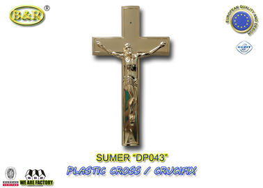 Plastic Cross and Crucifix Crucifijo Cruces Con Cristoaccessori Funebri