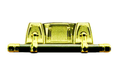 PP recycle or ABS casket swing bar set SL001 gold color