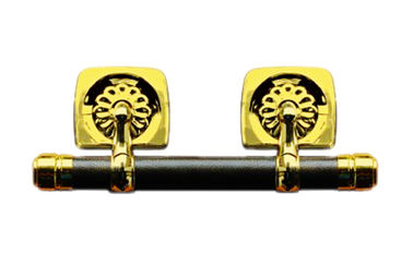 Bronze color casket swing bar set SL004 with steel bar and zamak lugs